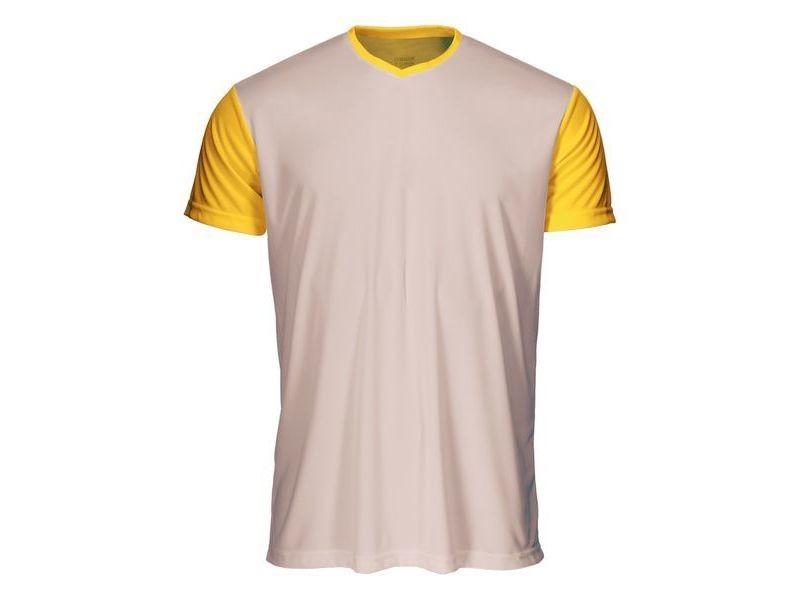 T-shirt de sport stylé taille xxl t shirt à manches courtes luanvi quick transfer jaune