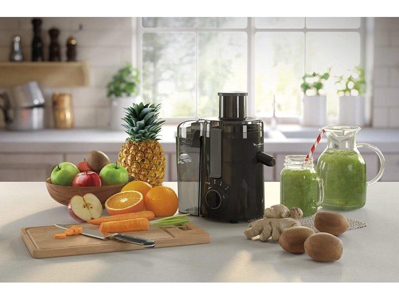 Centrifugeuse électrique pour fruits et légumes avec 2 vitesses 350w noir