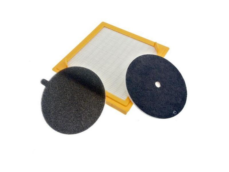 U27 kit filtres hepa sensory aspirateur hoover 09205469, 03875166