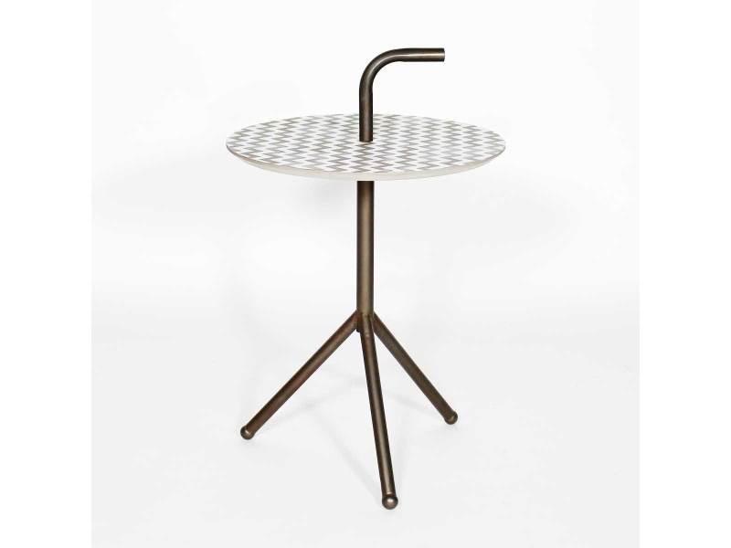 table d 39 appoint industrielle mdf scandigraphik uh608 vente de console conforama. Black Bedroom Furniture Sets. Home Design Ideas