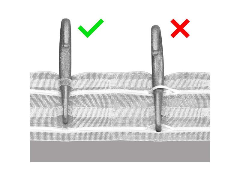 Disney princesses, rideau pour chambre d\'enfant 180x160 cm ...