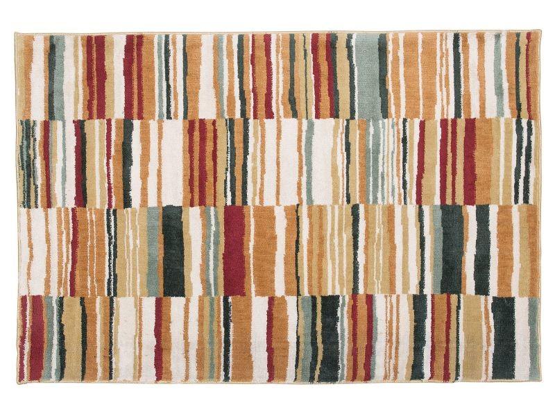 Tapis Multicolore 140 X 200 Cm Fatsa 91438 Vente De Paillasson