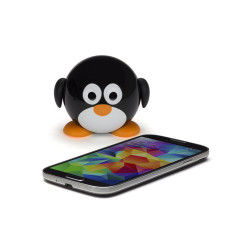 Mini enceinte portable pingouin bluetooth