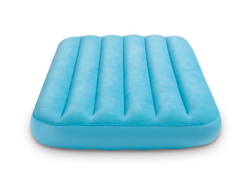 Matelas gonflable enfant bleu 1 place - intex