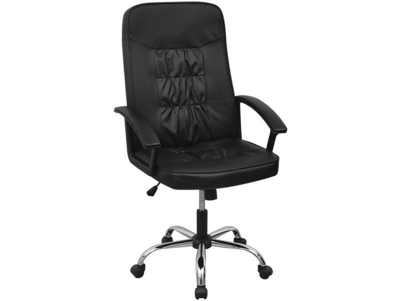Chaise Noir Bureau 20126 De En Cuir Artificiel Vidaxl 67x70 Cm WEI29YeDHb