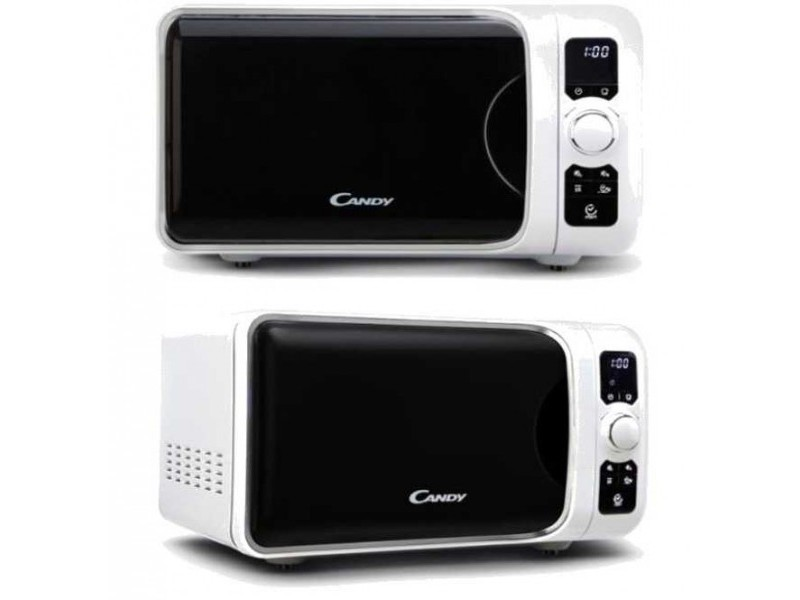 Candy four micro-ondes gril 25 litres blanc ego-g25dcw
