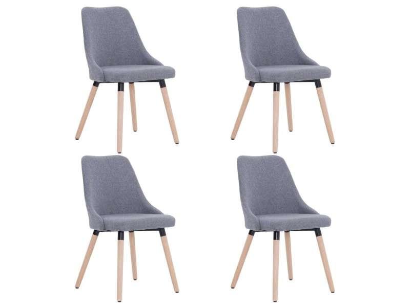 Icaverne chaises de cuisine ligne 4 pcs chaises de salle à
