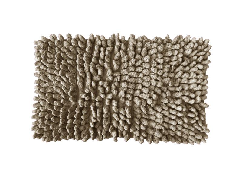 Carpette de bain en coton mastic 50 x 80 cm