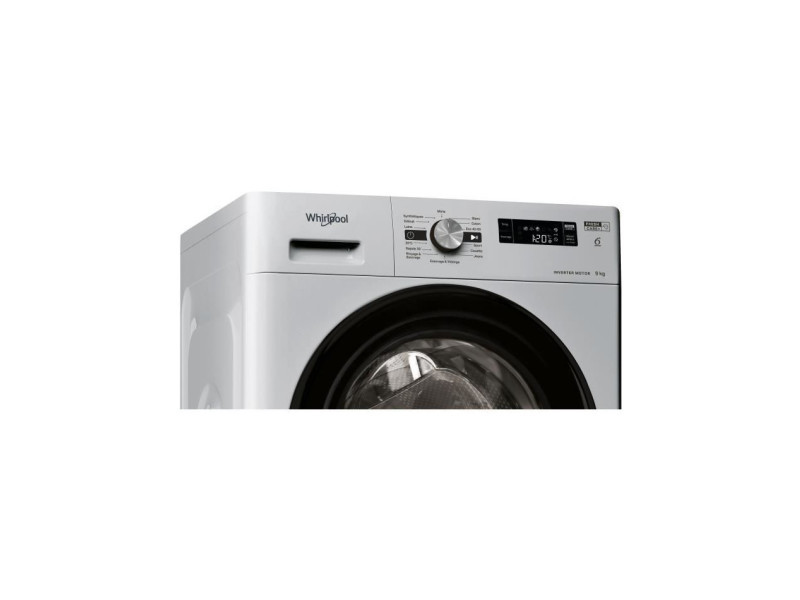 Lave-linge frontal 9kg whirlpool 1200tr/min a+++, whi8003437043697 WHI8003437043697