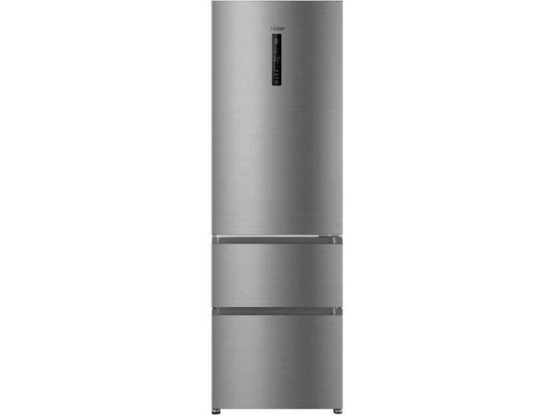 R3df512dhj - réfrigérateur multi-portes - 330l (233+97) - froid ventilé - a+ - l59.5 x h190,5 cm - silver HAI6901018077821