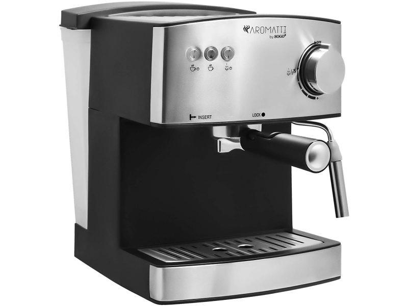 Cafetière combi 1,6 l 850 w - sogo caf-ss-5675