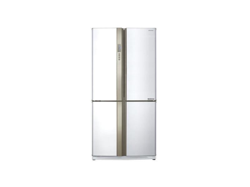 Sharp sjex820fwh - refrigerateur multi-portes - 605l 394+211 - froid ventile no frost - a++ - l89,2 x h183 cm - blanc SHA4974019870946