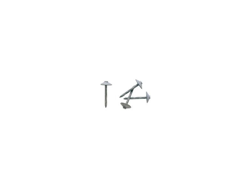 Pointe torsadée acier galvachaud 4 x 80 100 536466