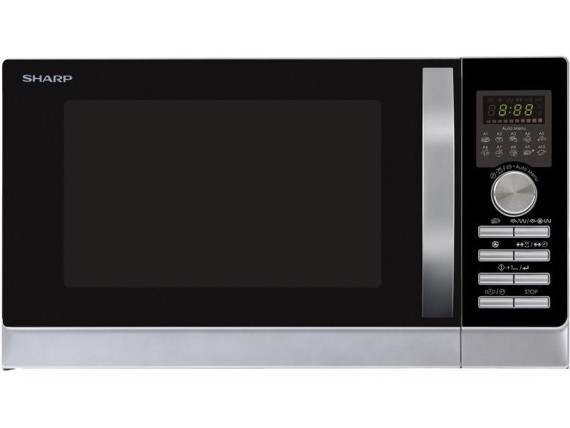 Micro-ondes pose libre 25l sharp 1100w 51.3cm, r843inw