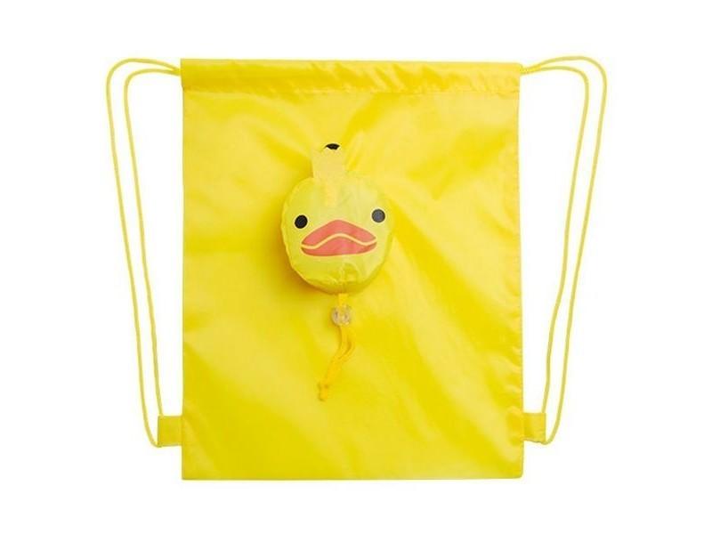 Sac à dos fermeture ficelles - sac pour enfant couleur - jaune