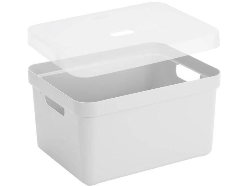 nouveau style 0d054 d73d4 Sunware - boite de rangement avec couvercle transparent ...