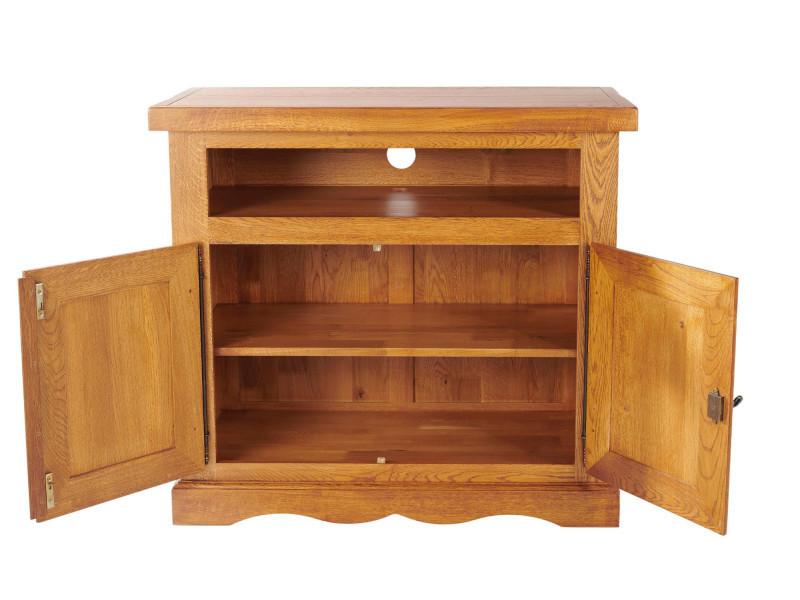 meuble tv la bresse vente de hellin conforama. Black Bedroom Furniture Sets. Home Design Ideas