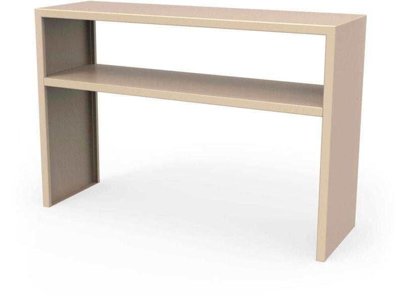 Console spirix beige sable hauteur 75 cm Csl_SPX_eta_h75_Sab