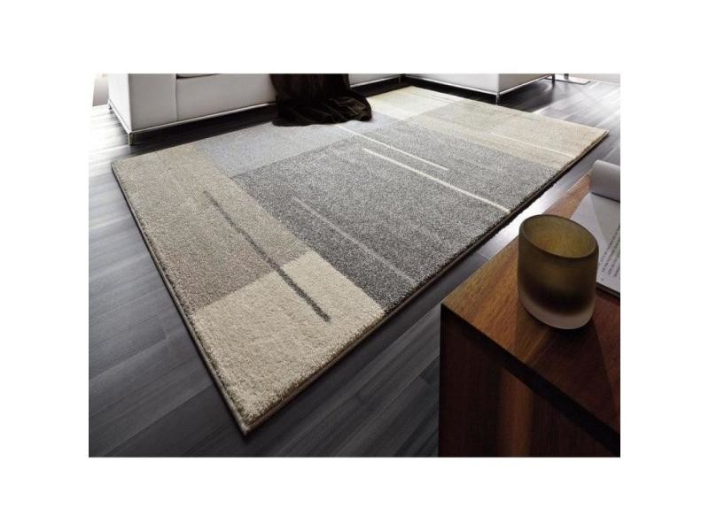 samoa design tapis patchwork gris taupe 160x230 cm 20100836338 conforama. Black Bedroom Furniture Sets. Home Design Ideas