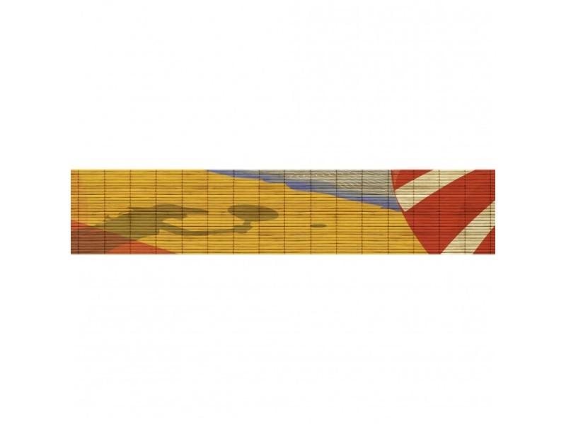Brise vue 100% occultant farniente 500 x 100 cm - canisse brise vent pour clôture de jardin