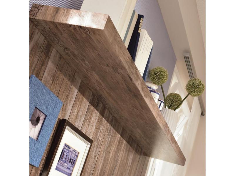 Film adhésif décoratif pour meuble bois ancien 200 x 45cm marron