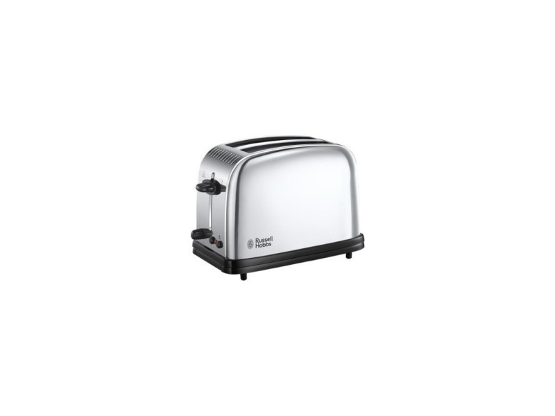 Russell hobbs 23310-57 - toaster victory retro 2 fentes - pinces a sandwichs - 1200 w - acier brillant RUS4008496893423