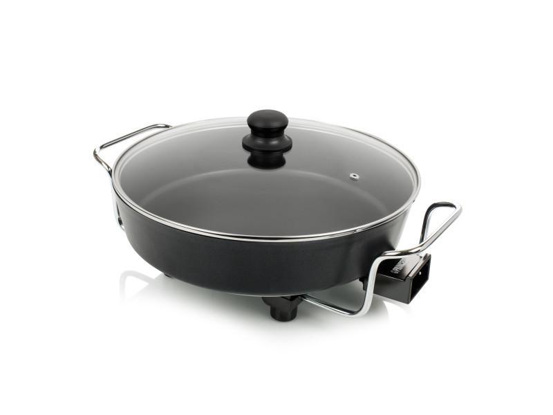 Poêle électrique multicuiseur 1800w noir - 162367 162367