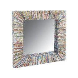 Petit miroir en papier recyclé