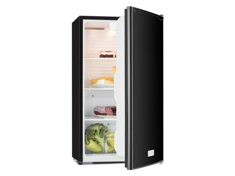 Klarstein beerkeeper réfrigérateur 92l- 3 clayettes & bac à légumes - classe a+ - noir