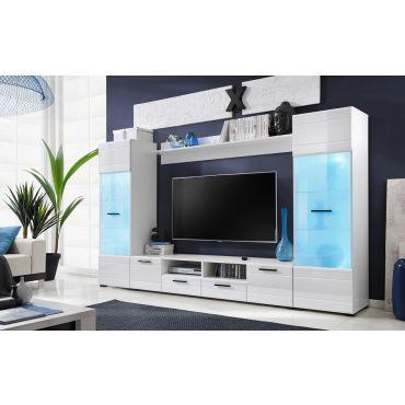 meubles switch 260 cm blanc laque avec