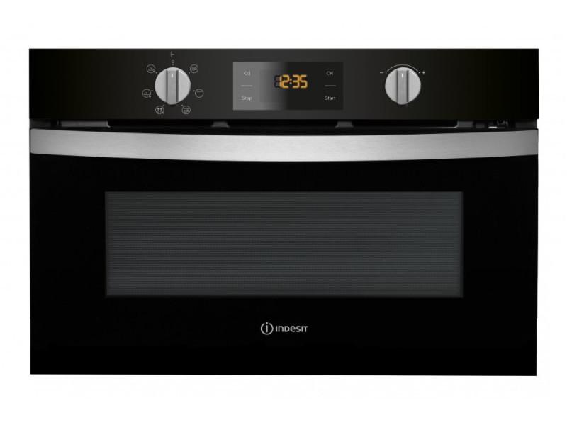 Indesit mwi 4343 bl intégré combination microwave 31l 1000w noir micro-onde