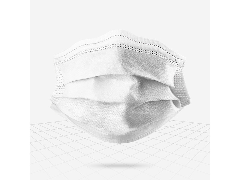 masque respiratoire jetable grippe