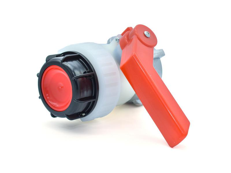 Vanne à bille type a 2 pouces avec écrou flottant 70mm pour cuve schutz - s60x6