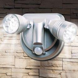 Lampe sans fil évolution duo orientable avec détecteur de mouvement 360 degrés