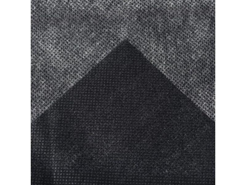 Admirable jardinage serie téhéran nature film de couverture de sol 1 x 20 m noir 6030220
