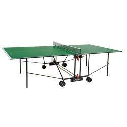 Tennis de table garlando e plateau vert - progress c-162i