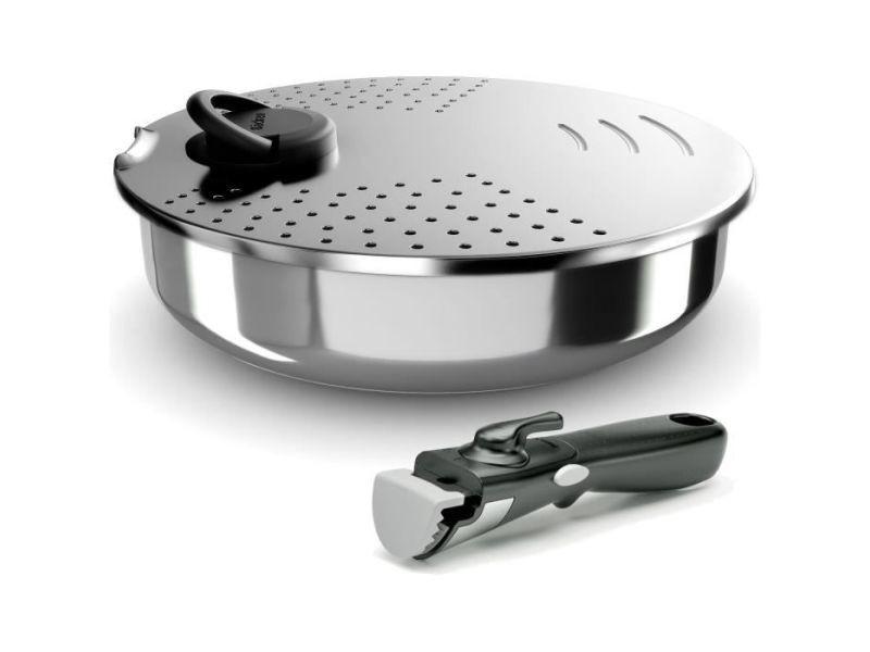 Batterie de cuisine 399915 - batterie de cuisine 15 pieces inox - tous feux dont induction