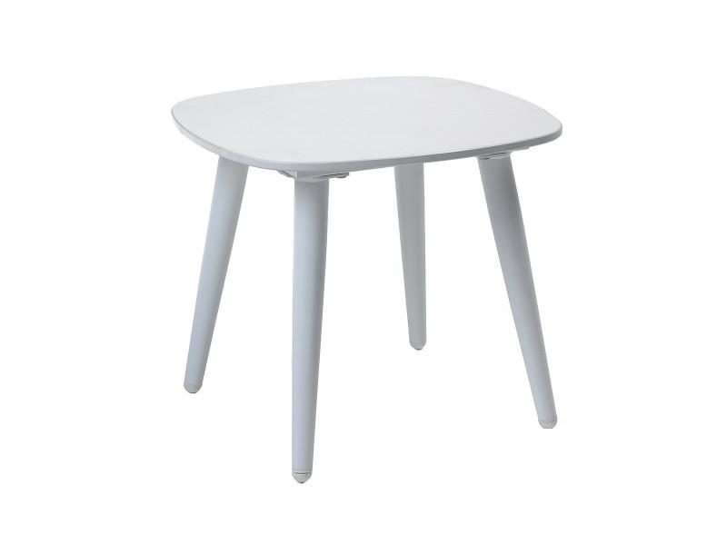 Table basse alu blanc et duranite® blanc kimito - Vente de GECKO ...