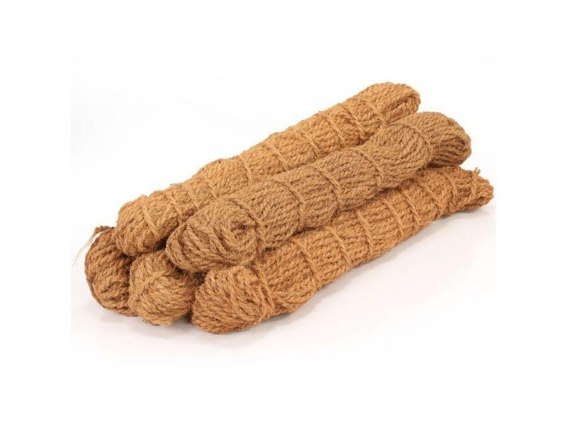 Chic chaînes, câbles et cordes reference brasilia corde en fibre de coco 10 mm 500 m