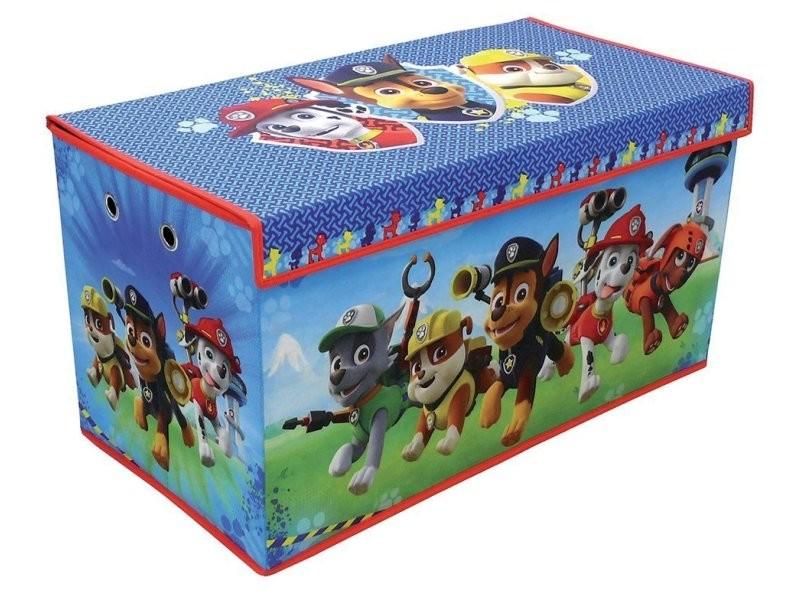 coffre jouets en tissu pliable g ant pat 39 patrouille vente de fun house conforama. Black Bedroom Furniture Sets. Home Design Ideas