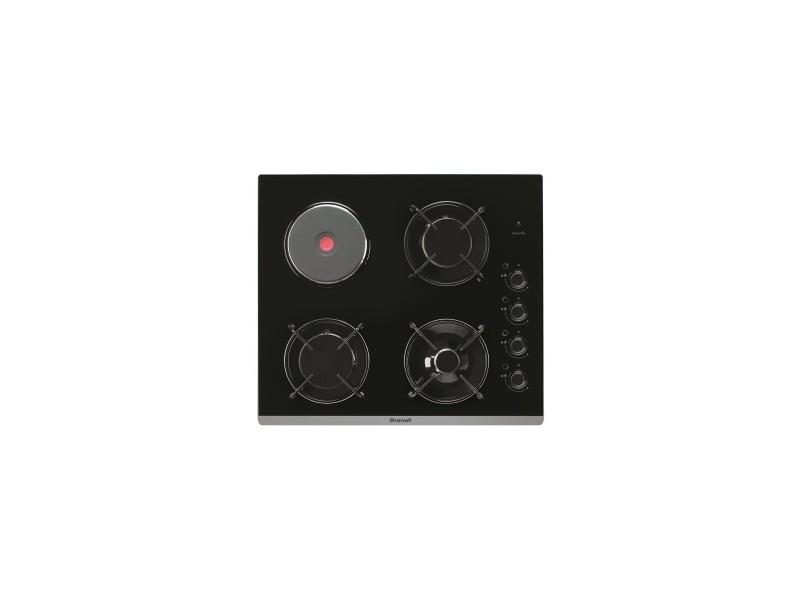 brandt table de cuisson verre mixte noire 3 bruleurs conforama. Black Bedroom Furniture Sets. Home Design Ideas