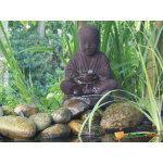 Fontaine de jardin en polyrésine aquaarte semarang bouddha led