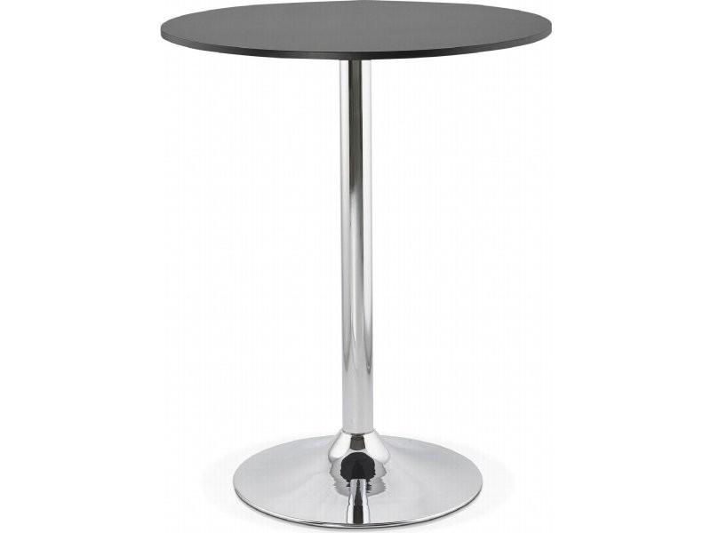 Table haute bar design lynn BT00180BL