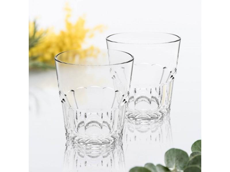 Verres à eau empilables nervion 27 cl x 6