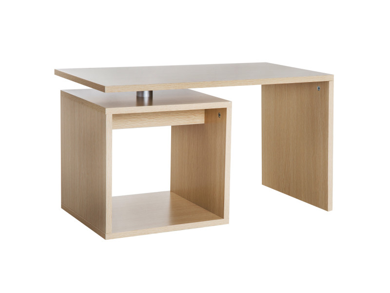 table basse contemporaine design g om trique carr rectangulaire 77l x 40l x 44h cm coloris. Black Bedroom Furniture Sets. Home Design Ideas