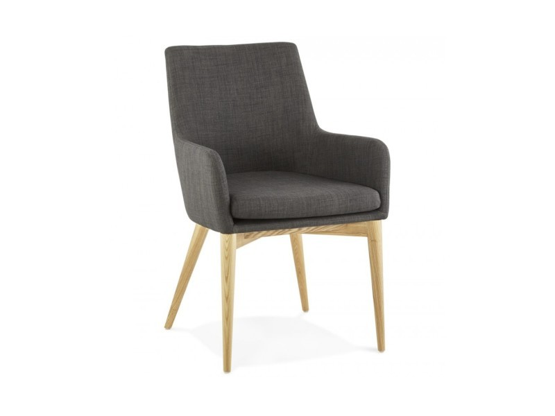 Fauteuil design gagu dark grey 55x62x87 cm