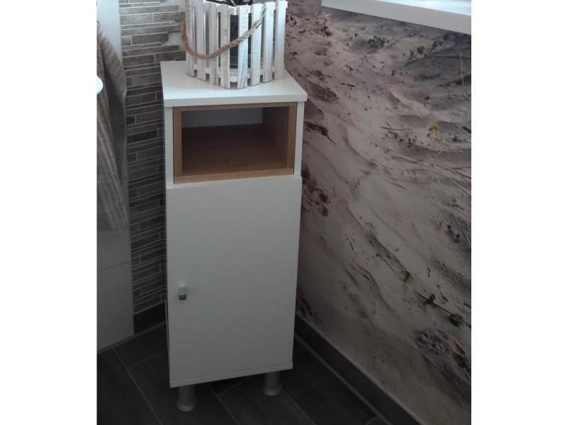 colonne de salle de bain blanche mat vente de armoire. Black Bedroom Furniture Sets. Home Design Ideas
