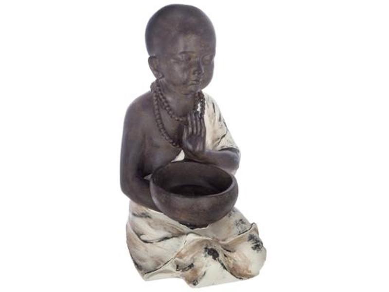 Statuette de bouddha assis \