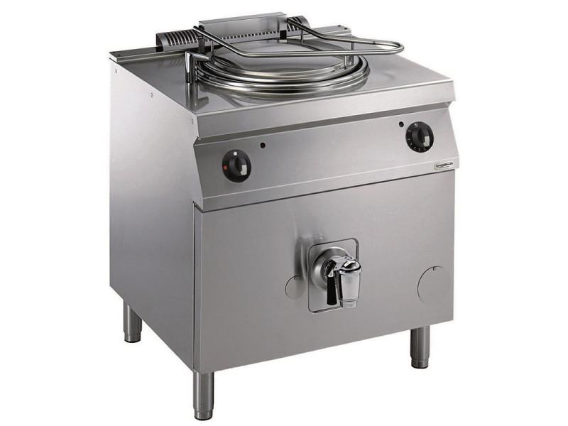Marmite à gaz professionnelle chauffage direct série 700 - 60l - combisteel - 6000 cl