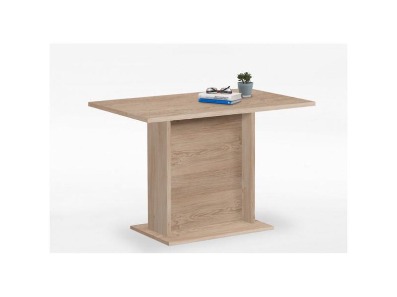 Fmd table de salle à manger 110 cm chêne 428698